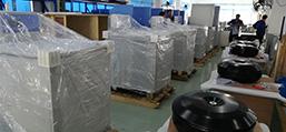 6台超大容量冷冻离心机发往四川某药企